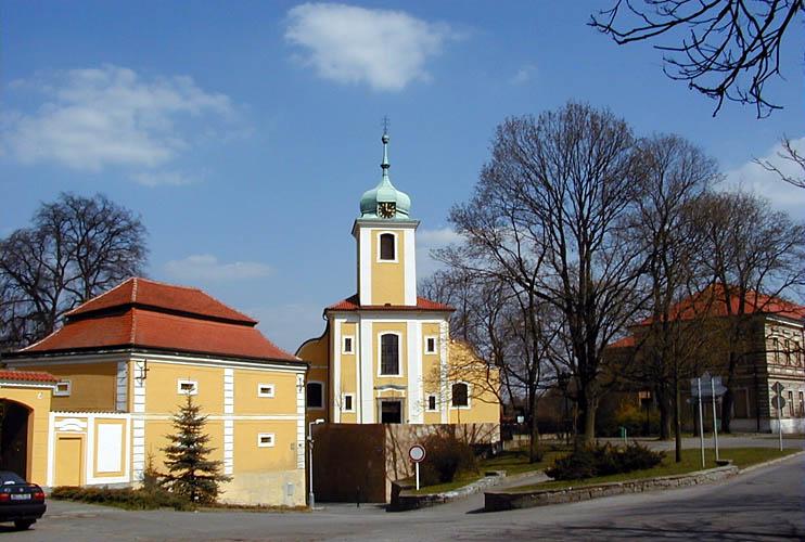 Kostel Povýšení sv. Kříže, foto: RNDr. Aleš Střecha